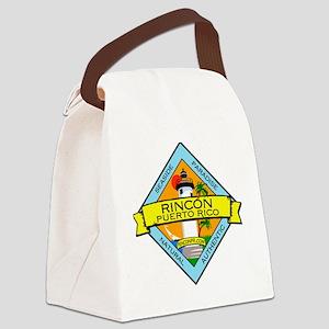 RinconPRLogo Canvas Lunch Bag