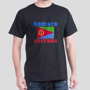 Asmara Eritrea Designs Dark T-Shirt