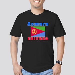 Asmara Eritrea Designs Men's Fitted T-Shirt (dark)