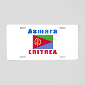 Asmara Eritrea Designs Aluminum License Plate