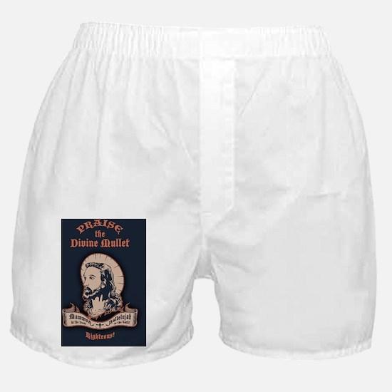jesus-mullet-CRD Boxer Shorts