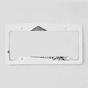 Sea Shell Design #15 License Plate Holder