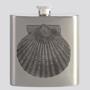 Sea Shell Design #3 Flask