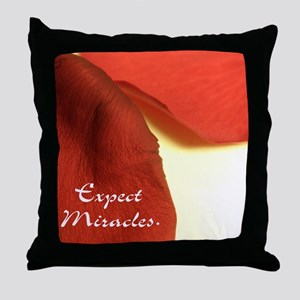 redrosepetals Throw Pillow