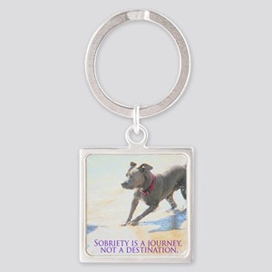 PSTR-journey2 Square Keychain
