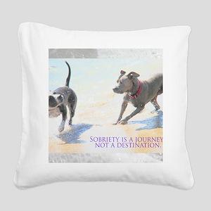 PSTR-journey2 Square Canvas Pillow