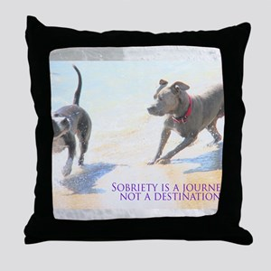 PSTR-journey2 Throw Pillow