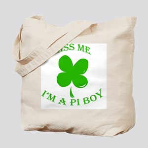 St. Pattys Kiss Me Tote Bag