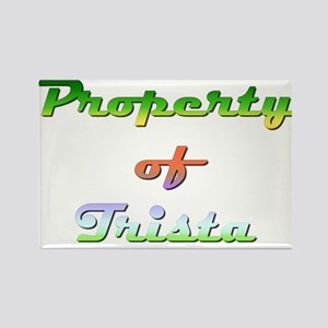 Property Of Trista Female Magnets