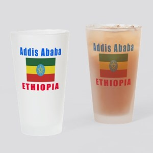 Addis Ababa Ethiopia Designs Drinking Glass