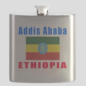 Addis Ababa Ethiopia Designs Flask