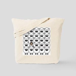 Sheltie in Sheep Tote Bag