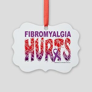 Fibromyalgia-Hurts-2009 Picture Ornament