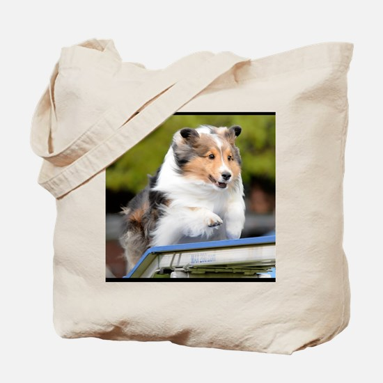Sheltie Agility Jive Tote Bag