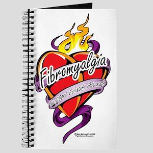 Fibromyalgia-Tattoo-Heart Journal