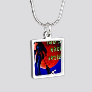 WITC Han dRat PosterP Silver Square Necklace