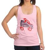 Roller derby Womens Racerback Tanktop