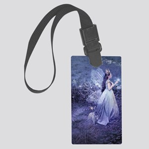 SoifraQueen, cropped Large Luggage Tag