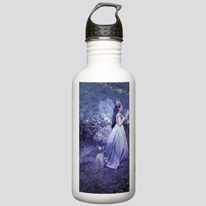 SoifraQueen, cropped Stainless Water Bottle 1.0L