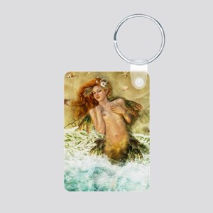 WashedAshore, cropped Aluminum Photo Keychain