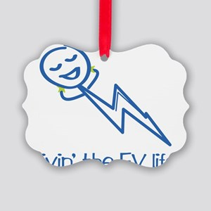 livin-the-ev-life-CLR Picture Ornament