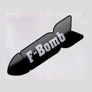 fbomb Throw Blanket