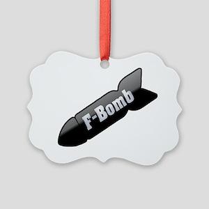 fbomb Picture Ornament