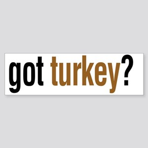 gotturkeyLight Sticker (Bumper)