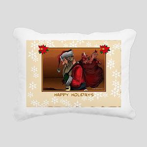 GreenCard3-01 Rectangular Canvas Pillow