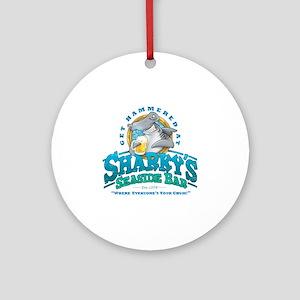 SharkysBar Round Ornament