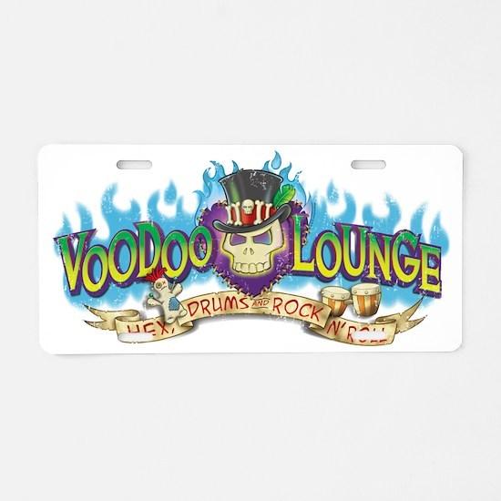 VoodooLounge Aluminum License Plate