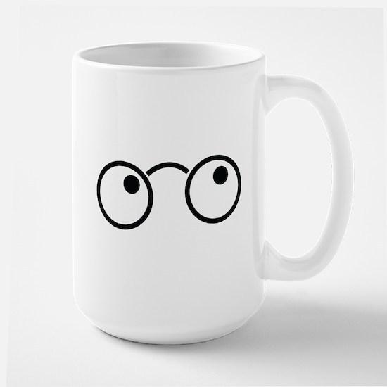 Cute nerdy boy glasses Mugs