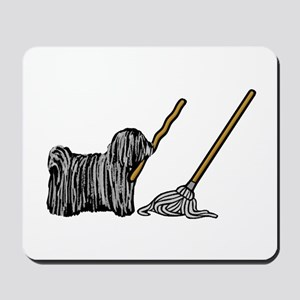 Puli Mop Mousepad