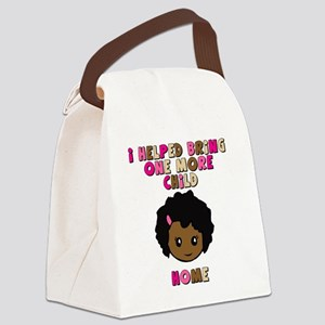 helped-bring-one-more-home- color Canvas Lunch Bag