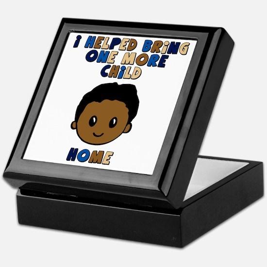 helped bring one more home boy copy Keepsake Box