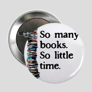 "2-logo so many books 2.25"" Button"