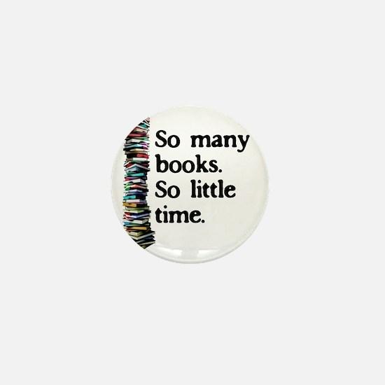 2-logo so many books Mini Button