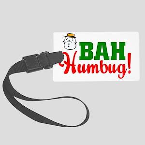 BahHumbugDark Large Luggage Tag