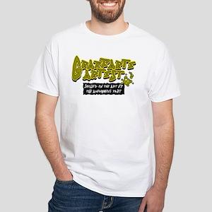 Graffarti Artist White T-Shirt