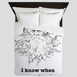 ScarySanta_Light Queen Duvet