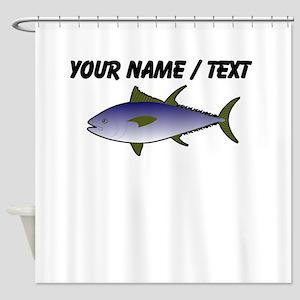 Custom Tuna Fish Shower Curtain