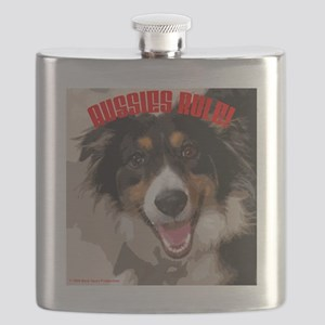 AUSSIES RULE Flask