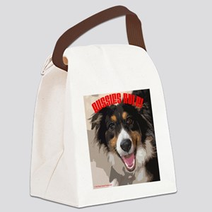 AUSSIES RULE Canvas Lunch Bag
