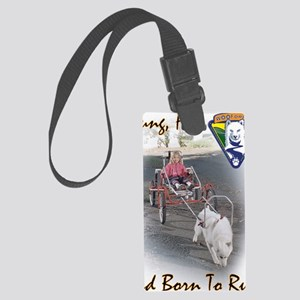 BornToRunRGB Large Luggage Tag