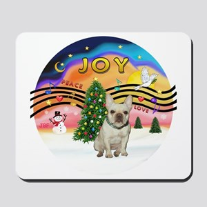 Xmas Magic 2 - French Bulldog (fawn 1) Mousepad