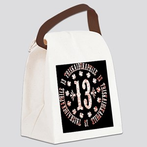 triskaidekaphile-OV Canvas Lunch Bag