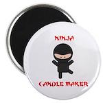 Ninja Candle Maker Magnet