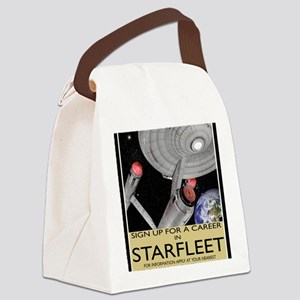 starfleet-recruitment-sq copy Canvas Lunch Bag