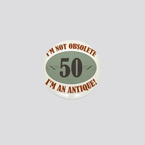 Obsolete50 Mini Button