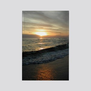 Sunset  Surf 9x12_print Rectangle Magnet
